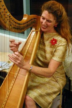 Tampa Bay harpist Bonnie Whitehurst